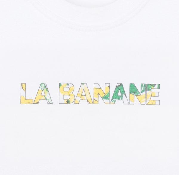 T-Shirt-LA BANANE-BEBE_Face détail imprimé