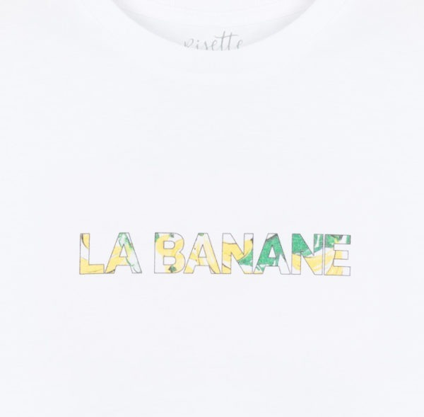 T-shirt-LA-BANANE_ENFANT_Détail imprimé