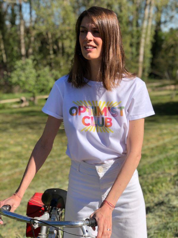T-shirt Optimist Club à velo zoom
