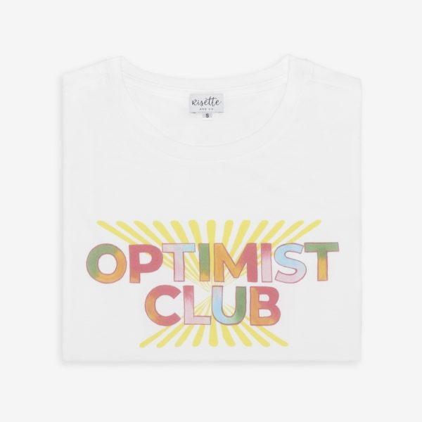 T-shirt Optimist Club vue pliée
